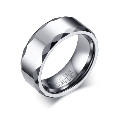 Simple Tungsten Men's Band