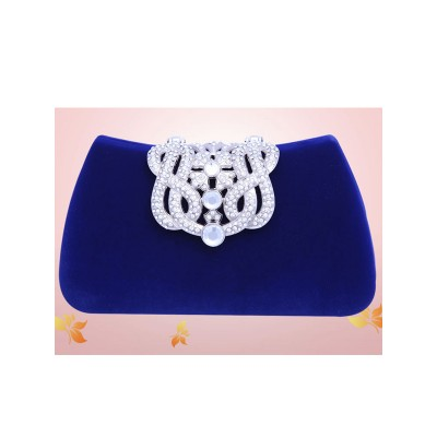Mini Rhinestone Flock Party/Evening Bags