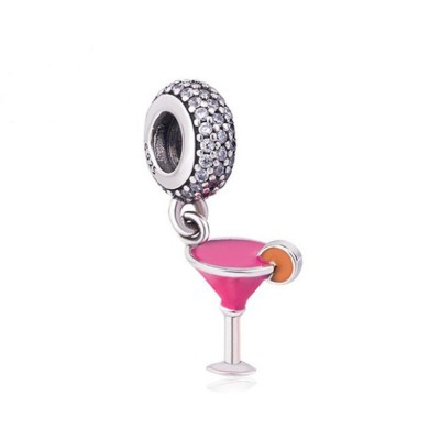 Cocktail Charm Sterling Silver