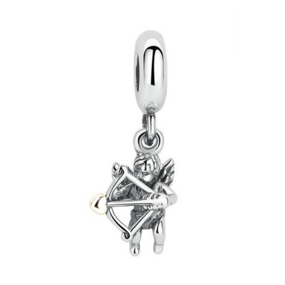 Cupid Charm Sterling Silver