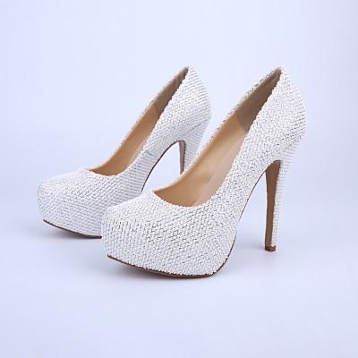 Women's Closed Toe Platform Stiletto Heel Platforms Shoes