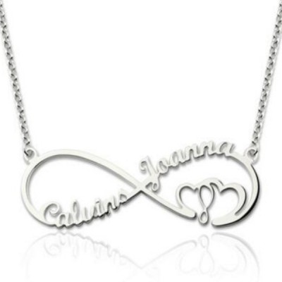 Infinity S925 Silver Personalized Name Necklace