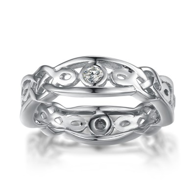 925 Sterling Silver Wedding Bands For Women