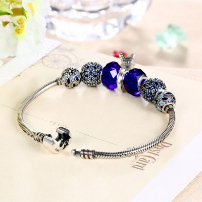 Eiffel Tower Beads Small Accessories S925 Silver Bracelets