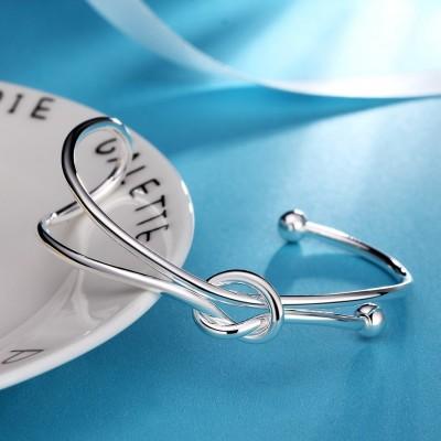 Special Cute Silver Titanium Bangles