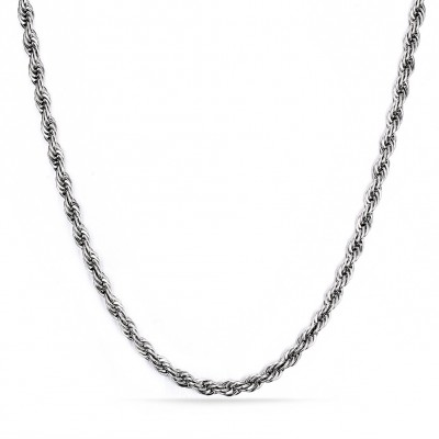 Silver Color Titanium Steel Chains