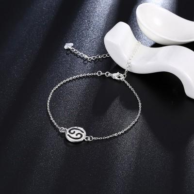 Unique Design Nice Silver Titanium Anklets