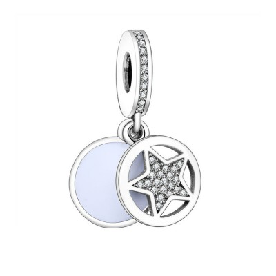 Star Charm Sterling Silver