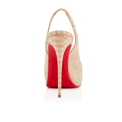 Women's Peep Toe PU Stiletto Heel Platform Champagne Sandals Shoes