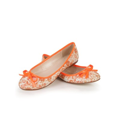 Women's Flat Heel Closed Toe With Bowknot Flat Shoes